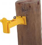 Dare 2338-25 W 25pack Wood Post Tape insulator - White