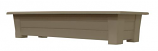 "36"" Deck Planter - Portobello By Adams Mfg"