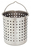 36-Qt. Stainless Perforated Baskets
