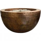 Prism Hardscapes Moderno 3 Fire Bowl in Copper - LP