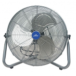 "iLiving 20"" Super Turbo High Velocity Floor Fan 7500CFM"
