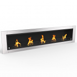 Regal Flame ER8007 Cambridge 70.9in Bio Ethanol Wall Mounted Fireplace