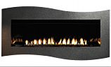 Boulevard Contemporary Linear VF IP Fireplace w/SS Liner and Logs, NG