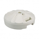 White Umbrella Base 231 By Patio Living Concepts