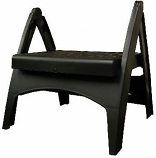 Black Step Stool 8530023700 By Adams Mfg