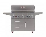 Bonfire CBF500CDC Prime 500 Gas Grill with Door/Drawer Cart - LP