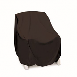 Two Dogs High Back Chair Cover - Khaki