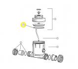 Waterco 255003 1.5in O-Ring Waterking Union