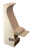 Stegmeier 8CF1000 8ft Clip Lock Capstone with Liner Track 112ft Kit