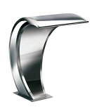 """SEG 106-300 Stainless 26"""" Curved Waterfall Square"""