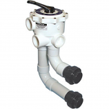 Waterway WVD001 Multi-Port Valve with Union Connections 2-Inch FPT