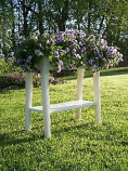 "White Deluxe 36"" Garden Planter"