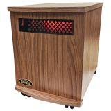 Sunheat USA1500-MAmericanWalnut Infrared Heater - American Walnut