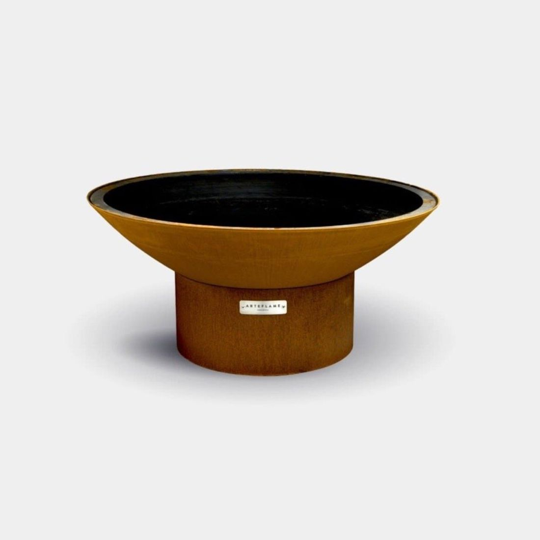 """Arteflame 40"""" Fire Pit Low Round Base"""