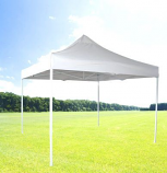 Zenport Solar Guard 10' x 10' Easy-Up Canopy Shelter