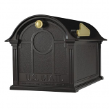 Balmoral Mailbox - Black By Whitehall Products