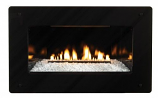 Loft Series 28K Btu, MV VF Insert w/ (4 x 3) Black Surround, LP