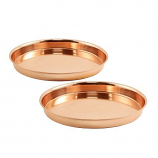 Achla TRY-R8 Pair of 8-in Round Trays