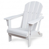 Westin Outdoor Laguna Poly Adirondack Chair, White