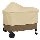 Weber Summit Grill Ctr Cover in Pebble - Full