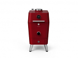 Everdure 4k Electric Ignition Charcoal / Electric Outdoor Oven - Red