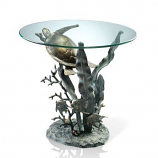 Sea Turtle Table 33551 By Spi Home