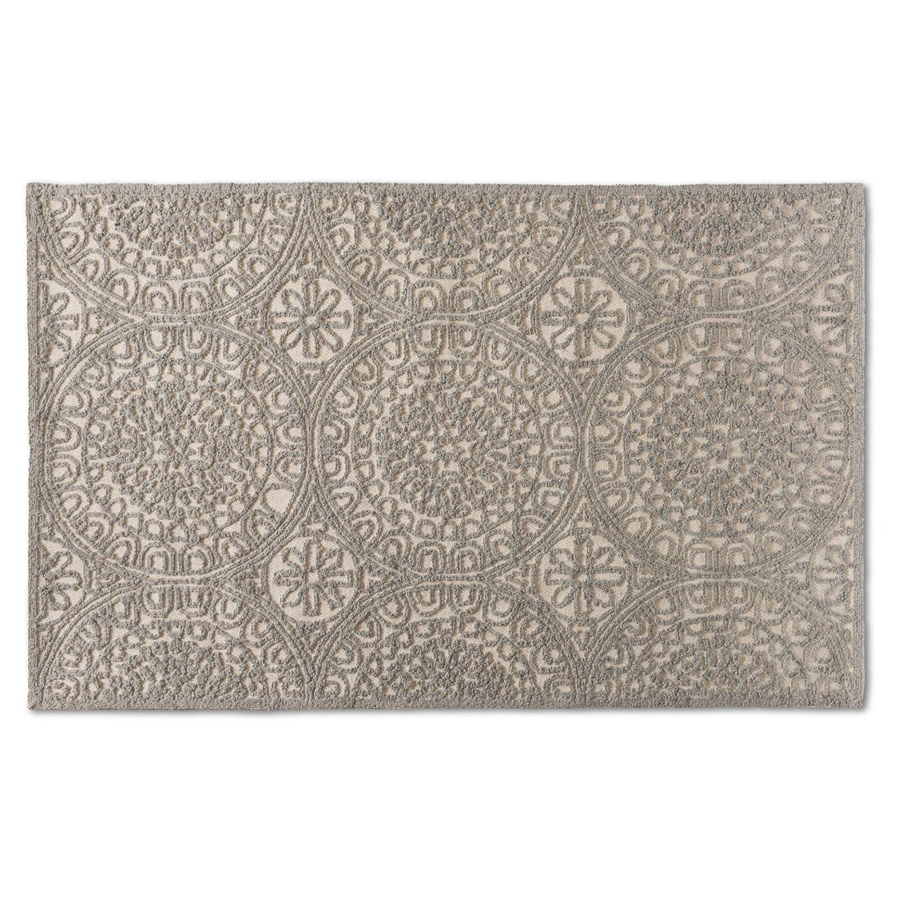Baxton Studio Borneo Grey Hand-Tufted Wool Area Rug