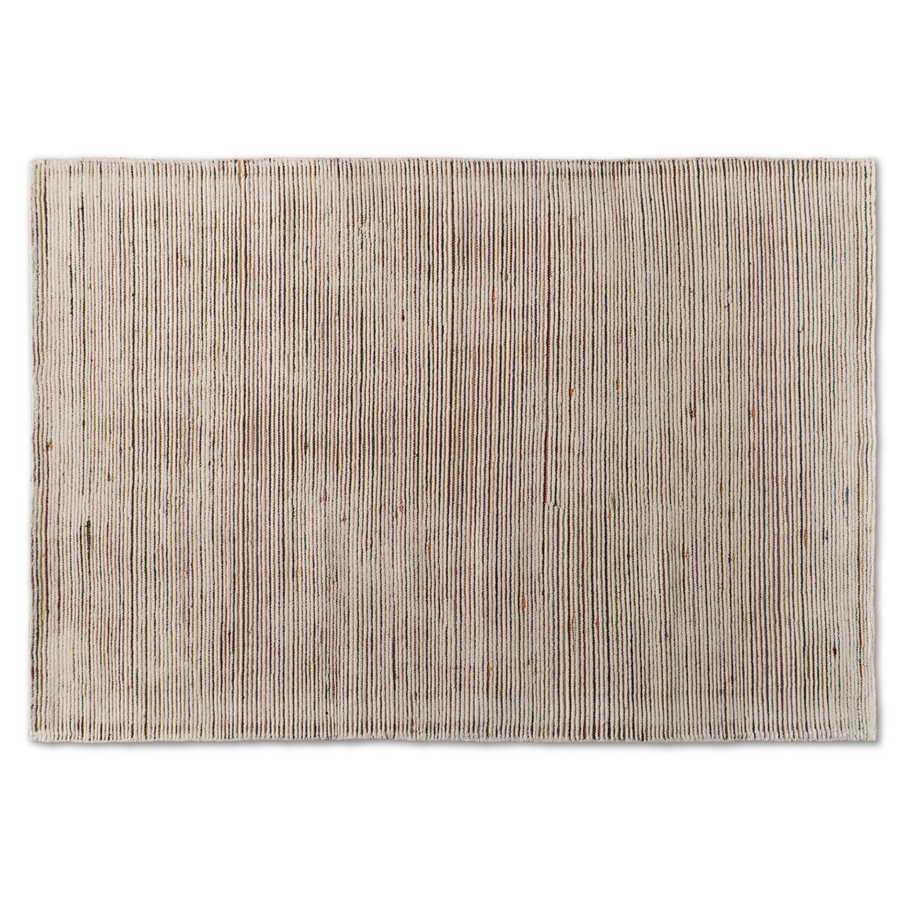 Baxton Studio Finsbury Multi-Colored Hand-Tufted Wool Blend Area Rug