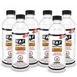 Regal Flame 6BFUEL Premium Ventless Bio Ethanol Fireplace Fuel - 6 Quart