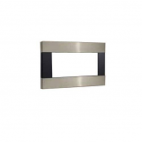Decorative Metal Surround with Barrier Screen