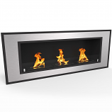 Regal Flame ER8015 Cynergy 50in Ventless Bio Ethanol Wall Mounted Fireplace