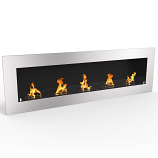 Regal Flame ER8012 Warren 72in Pro Ventless Ethanol Wall Mounted Fireplace