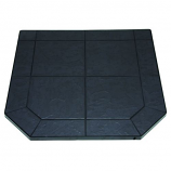 """Volcanic Sand Stove Board, Double Cut, 48"""" x 48"""""""