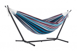 Vivere UHSDO9-12 Vivere's Combo - Double Denim Hammock with Stand- 9ft