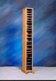 Solid Oak Tower for CD's Model 109-4