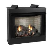 Deluxe 36 VF LF Firebox, CO Log Set, Liner & MNUL SG Burner - LP