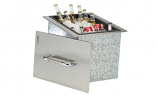 Bull Outdoor Ice Chest with Cover and Drain