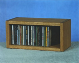 The Wood Shed 103-1 CD Cabinet - Clear