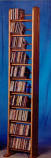 The Wood Shed 1004 CD Rack - Clear