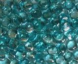Aqua Marine Tempered Fire Glass Gems