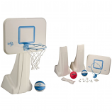 Dunn Rite BV700 PoolSport Combo Pool Basketball/Volleyball Set- Stainless
