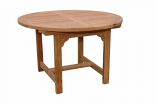 "Anderson Teak TBX-067V Bahama 67"" Oval Extension Table"