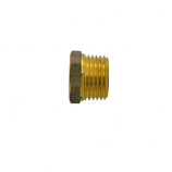 Waterco 62272 Reducing Bushing 15x10mm Brass