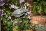 Desert Steel 409-309 Poppy Solar Garden Light - Bronze