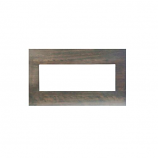 Birch Wood Mantel/Surround for BI-40-XTRASLIM Unit - Gray Bark