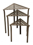 Triangular Nesting Tables - Set Of 3