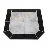 "Night Shadows Tile Stove Board, Double Cut, 48"" x 48"""