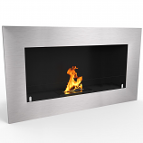 Regal Flame ER8008 Warren 35in Pro Ventless Ethanol Wall Mounted Fireplace