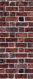 American Chimney Supplies Decorative Chimney Housing Kit - Red Brick 3