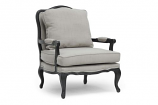Antoinette Classic Antiqued French Accent Chair